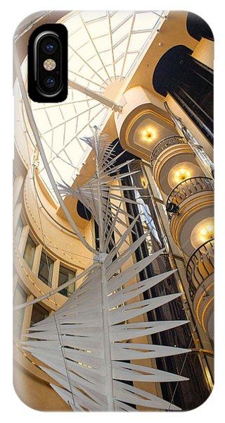Elevator On Norwegian Dawn IPhone Case