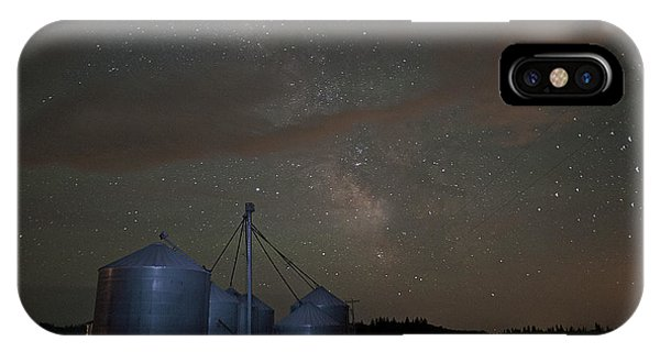 Elevators And Milky Way IPhone Case