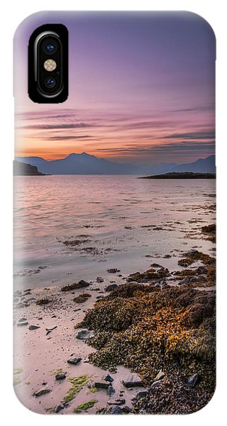 Landscape Wall Art Sunset Isle Of Skye IPhone Case