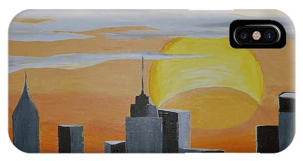 Elipse At Sunrise IPhone Case
