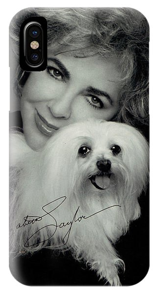 Elizabeth Taylor And Friend IPhone Case