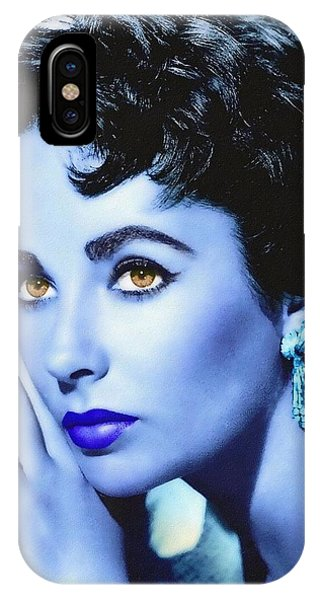 Elizabeth Taylor Phone Case by Art Cinema Gallery