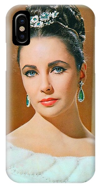 Elizabeth Taylor In The V.i.p.s. Phone Case by Art Cinema Gallery