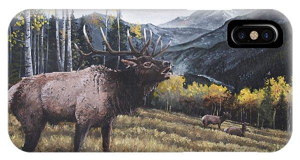 Elk Bugle IPhone Case