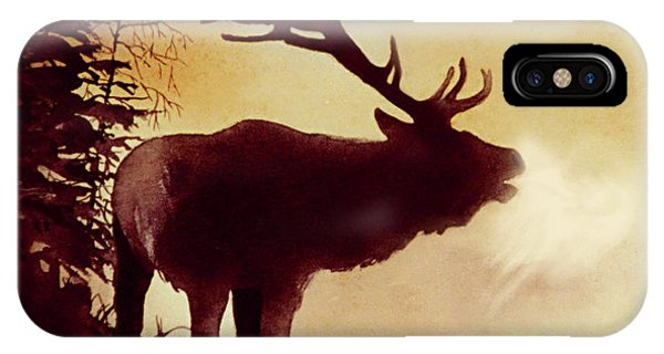 Elk Bugle IPhone Case