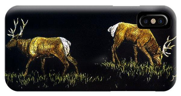 Elk Bulls IPhone Case