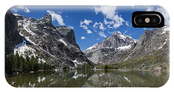 Elk Lake Panorama 1 IPhone Case