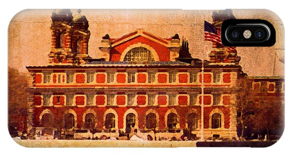 Ellis Island IPhone Case