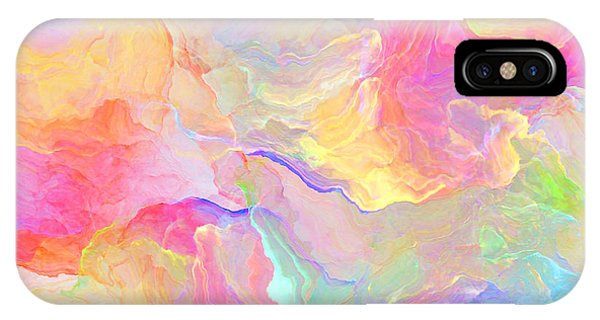 Eloquence - Abstract Art IPhone Case