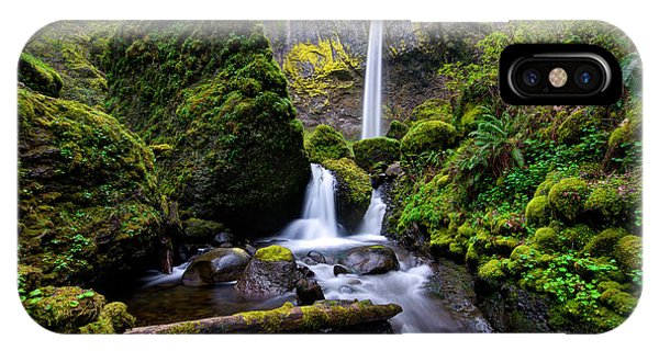 Elowah Falls IPhone Case