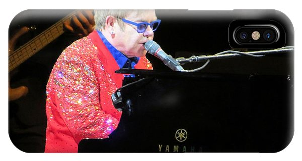 Elton John Live IPhone Case