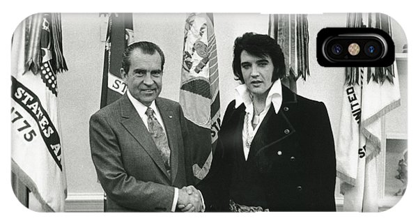Elvis And Nixon IPhone Case