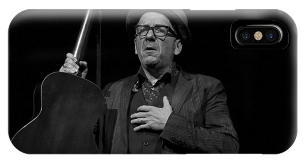 Elvis Costello Phone Case by Jeff Ross