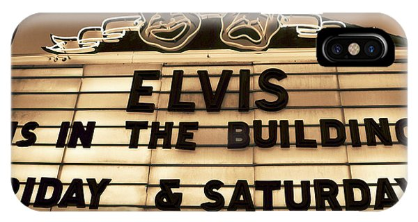 Elvis Is In IPhone Case