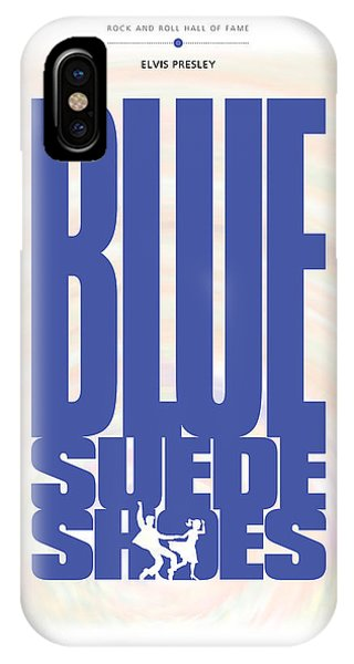 Elvis Presley - Blue Suede Shoes IPhone Case