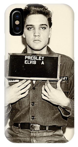 Elvis Presley - Mugshot IPhone Case