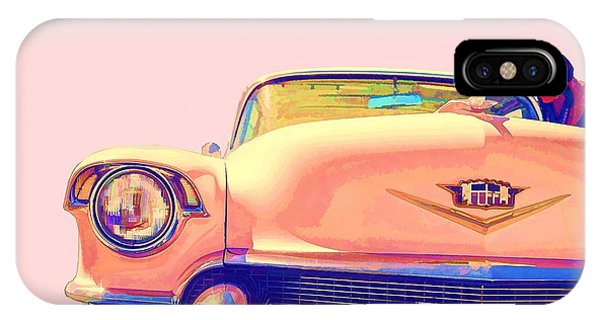 Etna iPhone Case - Elvis Presley Pink Cadillac by Edward Fielding