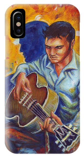 Elvis Presley- Shadow Duet IPhone Case