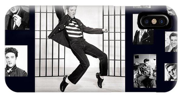 Elvis Presley - The Legend IPhone Case