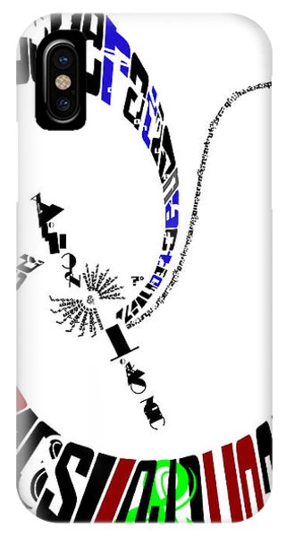 Elvis With Words IPhone Case