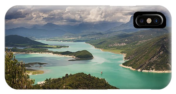 Embalse De Mediano 1 Phone Case by Michael David Murphy