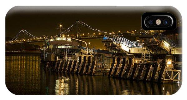 Embarcadero Boats IPhone Case