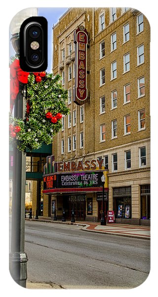 Embassy Christmas - Fort Wayne IPhone Case