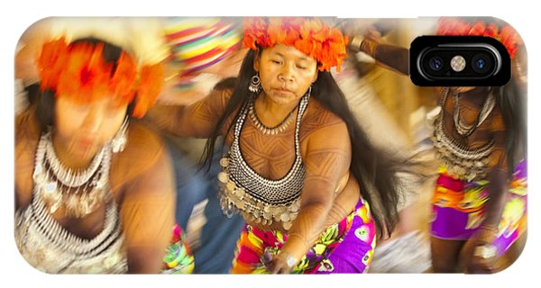 Ethnic iPhone Case - Embera Villagers In Panama by David Smith