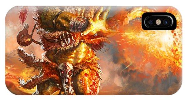 Embermage Goblin IPhone Case