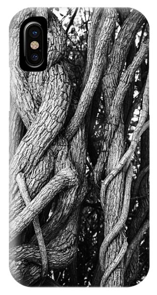 Embracing Rooted Love Phone Case by Luna Curran