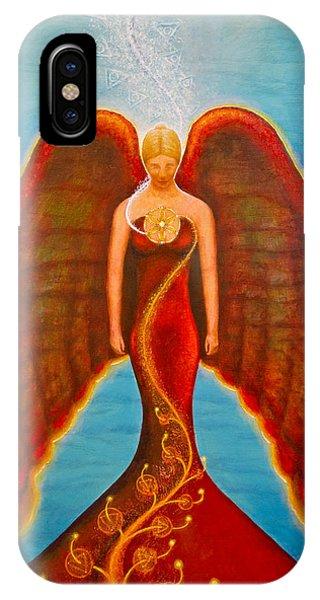 Emeliah Angel Of Inner Journeys IPhone Case