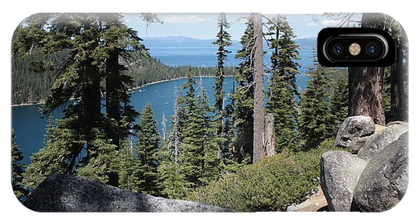 Emerald Bay Vista IPhone Case