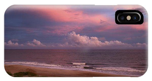 Emerald Isle Sunset IPhone Case