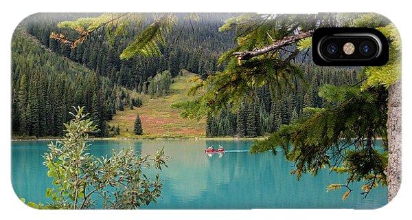 Emerald Lake British Columbia IPhone Case