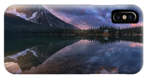 Banff iPhone Case - Emerald Light. by Juan Pablo De