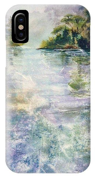 emerald Stream Phone Case by Patrice Pendarvis