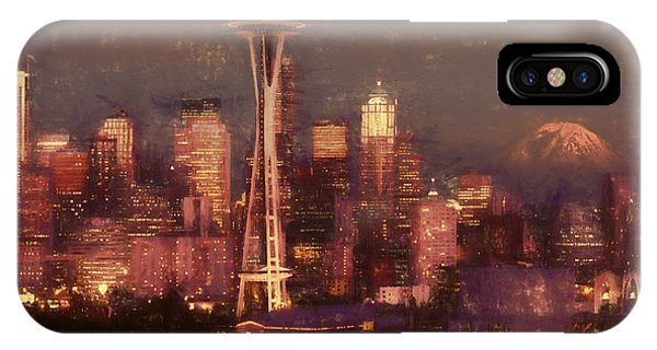 Emerald Twilight IPhone Case