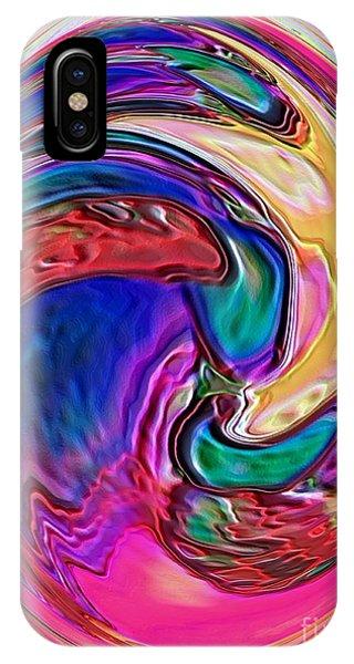 Emergence - Digital Art IPhone Case