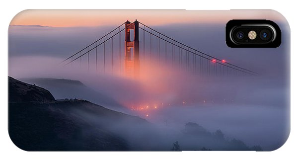 Morning Mist iPhone Case - Emergence by Gerald Macua