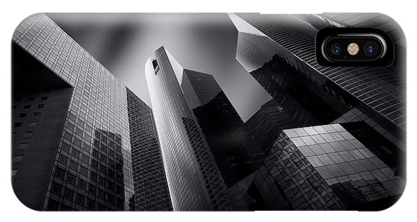Buildings iPhone Case - Emergence by Sebastien Del Grosso