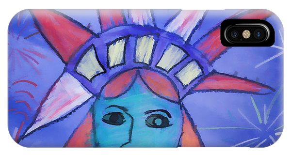 Emma's Lady Liberty IPhone Case