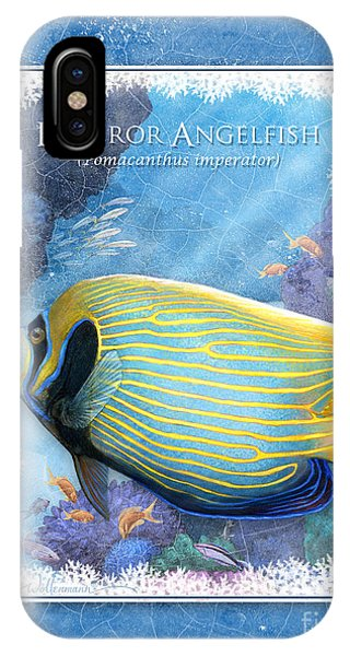 Emperor Angelfish IPhone Case