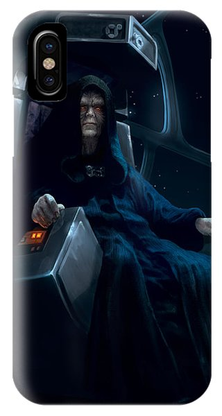 Emperor Palpatine IPhone Case