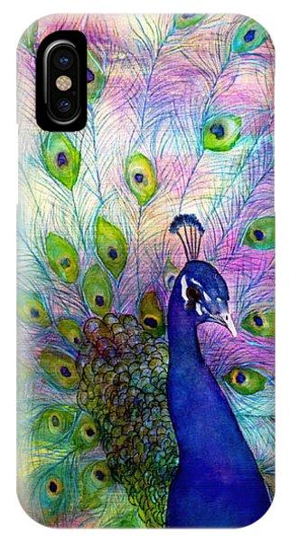 Emperor Peacock IPhone Case