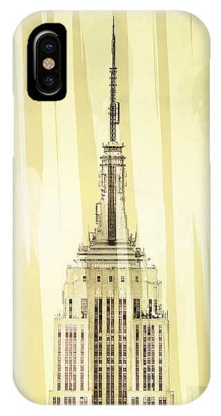 Empire State Building iPhone Case - Empire State Building 2 by Az Jackson