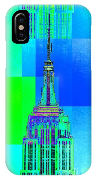 Empire State Building 5 IPhone Case