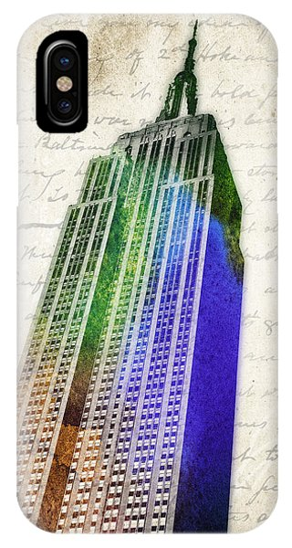 Empire State Building iPhone Case - Empire State Building by Aged Pixel