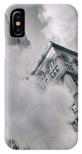 Empire State Building And Steam IPhone Case
