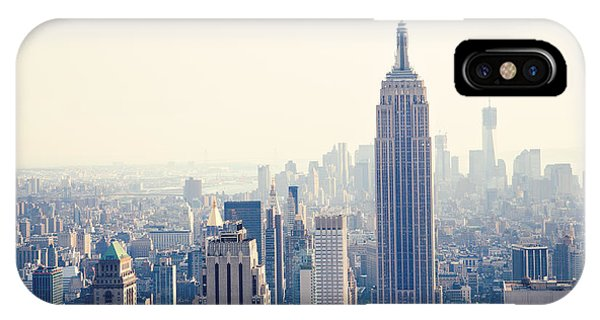 Cute iPhone Case - Empire State Building Nyc by Kim Fearheiley