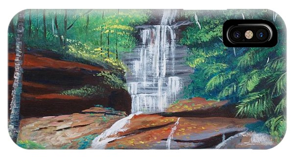 Empress Falls Australia IPhone Case